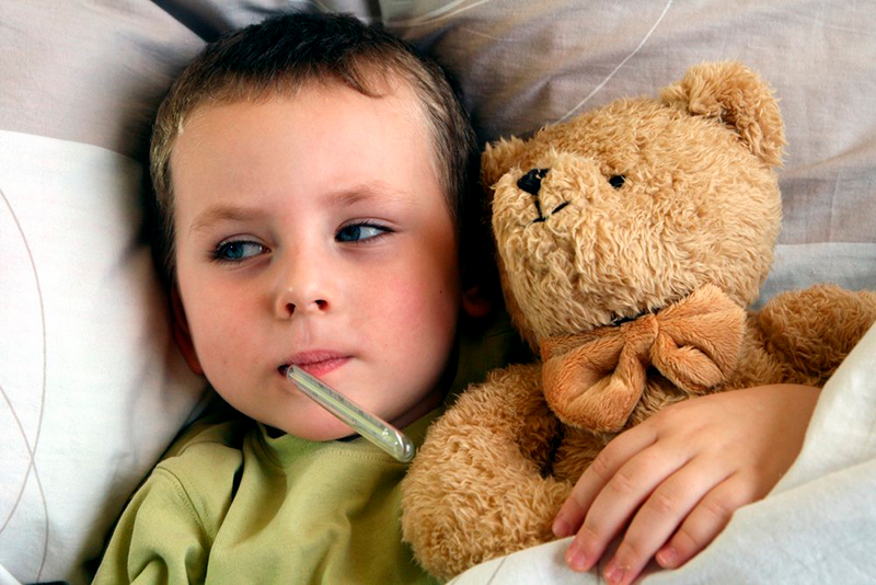 больной ребенок нужно скорее вылечить
