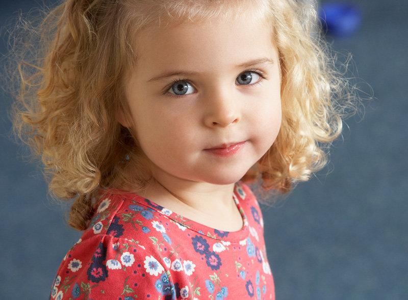 здоровая девочка 4 лет