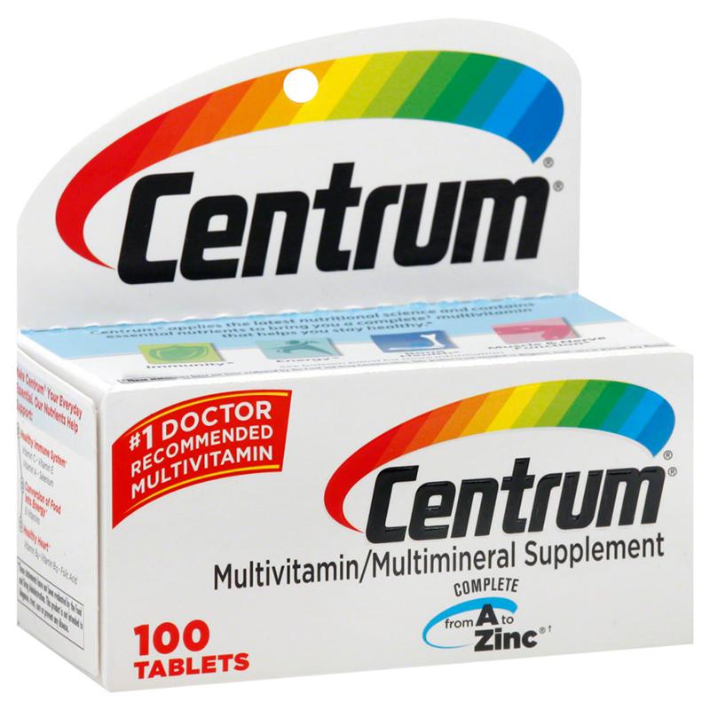 """Витамины """"Центрум"""": отличное средство для повышения иммунитета"""